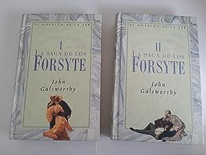La saga de los Forsyte. 2 tomos: John Galsworthy