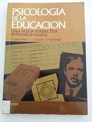 Psicología de la educación. Una nueva perspectiva: VV.AA