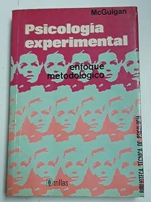 Psicología Experimental, enfoque metodológico: F.J. McGuigan