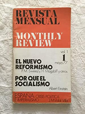 Monthly review. Revista mensual vol. 1, 1