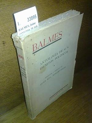 ESCRITOS POLITICOS DE D. JAIME BALMES. Coleccion: BALMES, Jaime