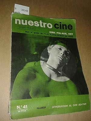 Revista: NUESTRO CINE. NUMERO 41. CINE POLACO,: AA.VV.