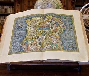 FACSIMIL LUJO) ATLAS DE MERCATOR (1607): Atlas sive Cosmographicae meditationes de fabrica mundi et...