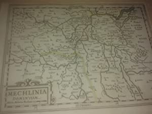 "MAPA ANTIGUO: ""MECHLINIA DOMINIUM"".: s.a."