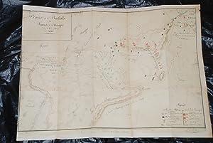 Plano de la Batalla de los Llanos de Maypu (Maipu).: No registra