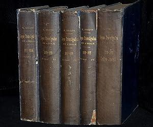 Leyes promulgadas en Chile 1810 - 1912: Ricardo Anguita