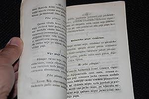 CATESISMO DE LA DOCTRINA CRISTIANA EN IDIOMA TACANA: MISIONERO COLEGIO PROPAGANDA FIDE