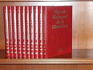 HISTORIA UNIVERSAL DE LA LITERATURA - 10: VV. AA.