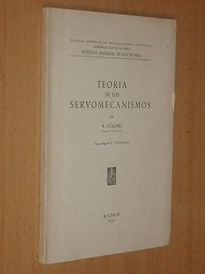 TEORÍA DE LOS SERVOMECANISMOS: Colino, A.