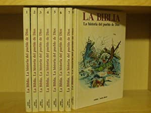 LA BIBLIA - Historia del pueblo de Dios - 8 TOMOS: VV. AA.