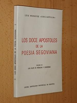 LOS DOCE APÓSTOLES DE LA POESÍA SEGOVIANA: VV. AA. -