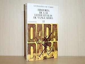 HISTORIA DE LAS LITERATURAS DE VANGUARDIA 2: Torre, Guillermo de