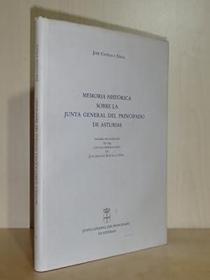 MEMORIA HISTÓRICA SOBRE LA JUNTA GENERAL DEL: Caveda y Nava,