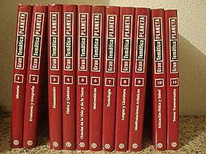 ENCICLOPEDIA GRAN TEMÁTICA PLANETA (11 Tomos, completa): VV. AA.