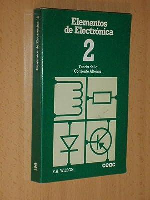 Elementos de Electrónica 2 - TEORÍA DE: Wilson, F. A.
