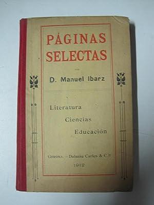Paginas Selectas: Manuel Ibarz