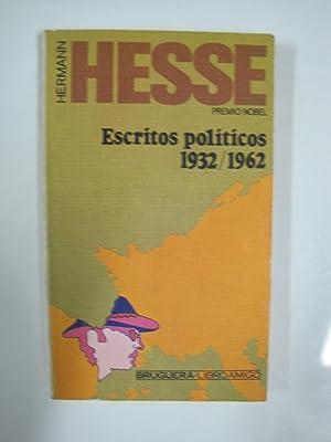 Escritos políticos (1932-1962): Hesse, Hermann