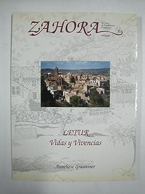 Zahora, revista de tradiciones populares, Letur vidas