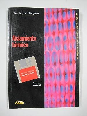 Aislamiento ternico, contiene un disquete: Lluís Jutglar I.