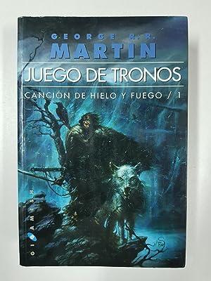 JUEGO DE TRONOS: CANCIÓN DE HIELO Y: George R.R Martin