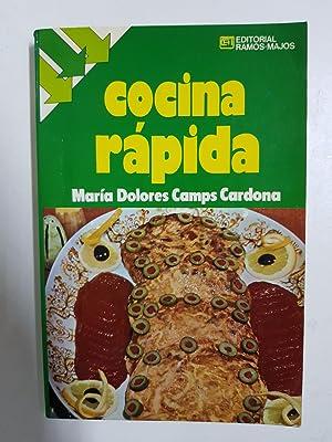 Cocina rápida: María Dolores Camps