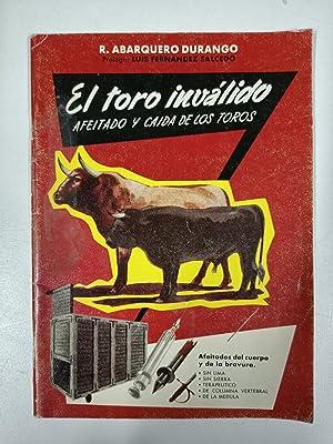 El toro inválido, afeitado y caida de: R. Abarquero Durango