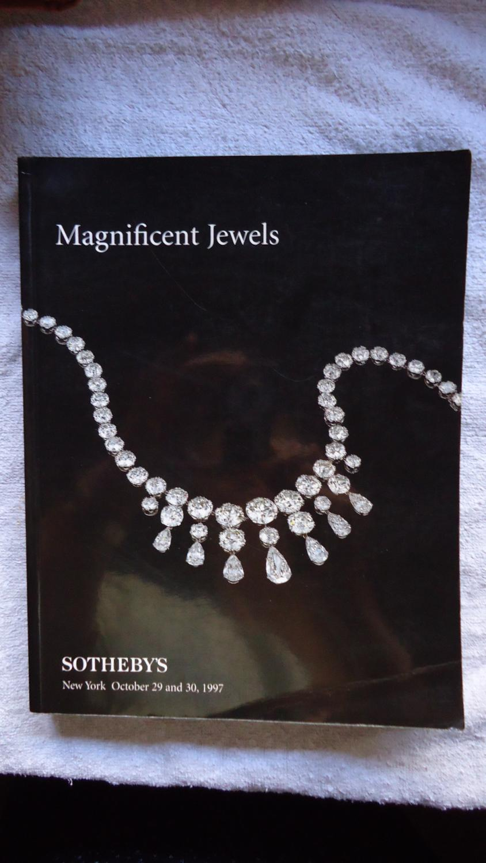 MAGNIFICENT JEWELS (FINE AUCTION CATALOGUE): SOTHEBY'S