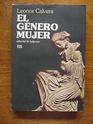 EL GÉNERO MUJER: CALVERA, Leonor