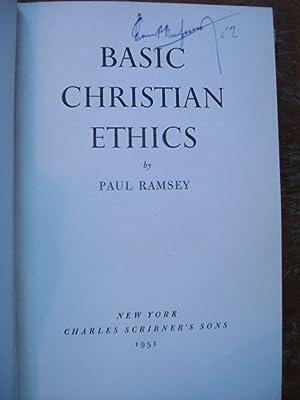 BASIC CHRISTIAN ETHICS: ROMSEY, Paul