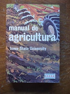 MANUAL DE AGRICULTURA: IOWA STATE UNIVERSITY