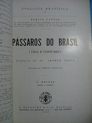 PÁSSAROS DO BRASIL (VIDA E COSTUMES): SANTOS, Eurico