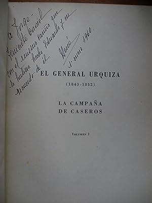 EL GENERAL URQUIZA (1843-1852). LA CAMPAÑA DE CASEROS: SAROBE, José María