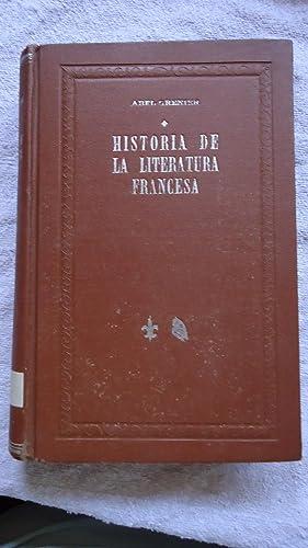 HISTORIA DE LA LITERATURA FRANCESA: GRENIER, Abel