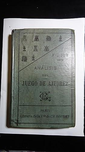 ANÁLISIS DEL JUEGO DE AJEDREZ: FILIDOR