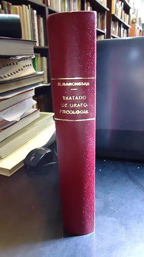 TRATADO DE GRAFOPSICOLOGÍA + MUESTRAS DE ESCRITURA: MARCHESÁN, Marco