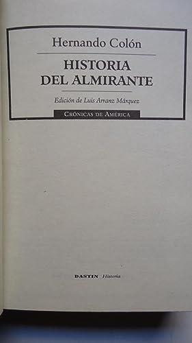 HISTORIA DEL ALMIRANTE: COLÓN, Hernando