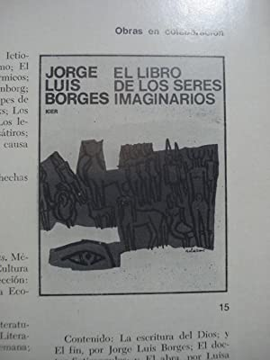 JORGE LUIS BORGES. BIBLIOGRAFIA TOTAL 1923/1973.: BECCO, Horacio Jorge