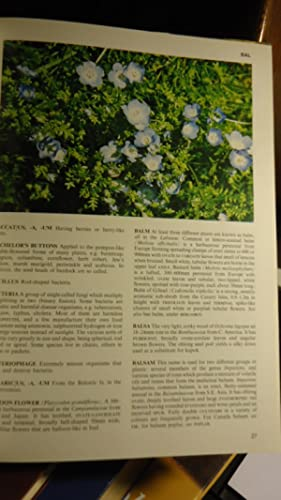 ILLUSTRATED DICTIONARY OF BOTANY.: BECKETT, Kenneth A. (EDITOR)