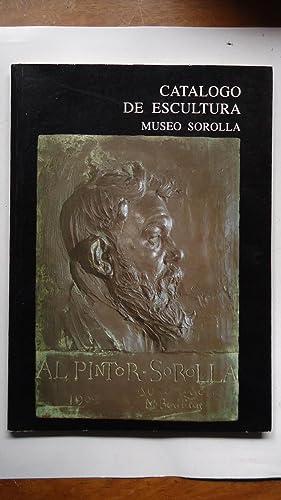 CATÁLOGO DE ESCULTURA MUSEO SOROLLA: RUIZ BREMON, Mónica