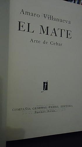 EL MATE. ARTE DE CEBAR: VILLANUEVA, Amaro