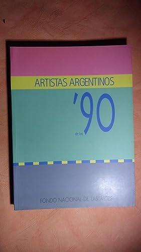 ARTISTAS ARGENTINOS DE LOS 90: BENEDIT, Luis F.