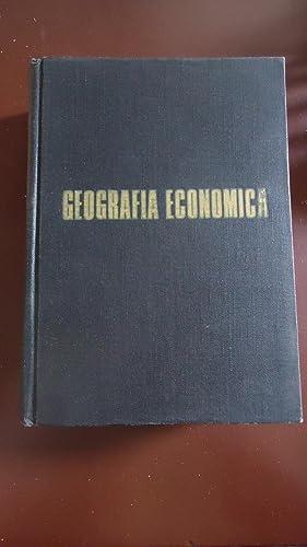 GEOGRAFÍA ECONÓMICA: JONES, Clarence Fielden + DARKENWALD, Gordon Gerald