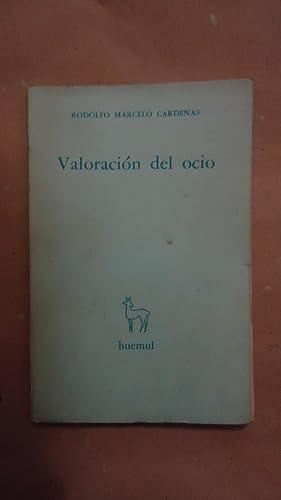 VALORACIÓN DEL OCIO: CARDENAS, Rodolfo Marcelo