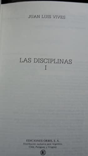 LAS DISCIPLINAS: VIVES, Juan Luis