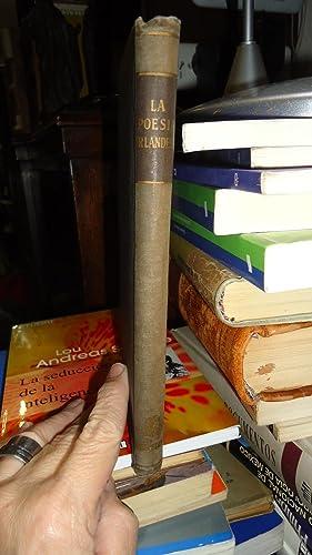 LA POESÍA IRLANDESA: MANENTS, M. (Versión, Selección y Prólogo)