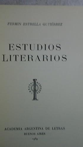 ESTUDIOS LITERARIOS: ESTRELLA GUITIERREZ, Fermín