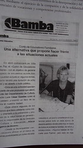 EL TRATAMIENTO MORAL. EXPERIENCIA ROBALLOS. COMUNIDAD TERAPÉUTICA: GUEDES ARROYO, Luis César