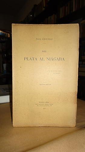 DEL PLATA AL NIAGARA: GROUSSAC, Paul