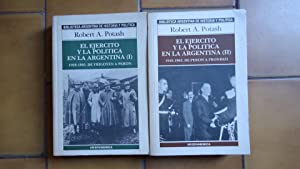 EL EJÉRCITO Y LA POLÍTICA EN LA ARGENTINA (2 TOMOS-OBRA COMPLETA): POTASH, Robert A.