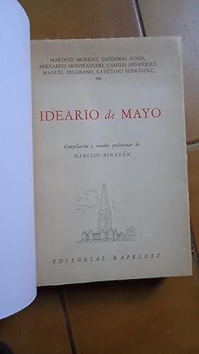 IDEARIO DE MAYO: BINAY�N, Narciso (Compilaci�n y Estudio Preliminar)